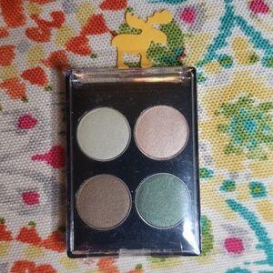 Lancome green eyeshadow quad, new